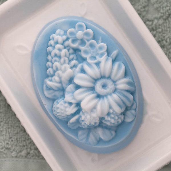 Форма для мыловарения Полевые цветы