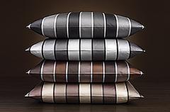Пододеяльник 200x200 Elegante Stripe серый