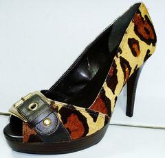 Туфли женские на высоком каблуке 11059503