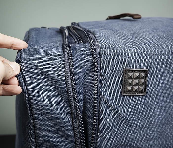 BAG477-3 Большая сумка для поездок синего цвета фото 08