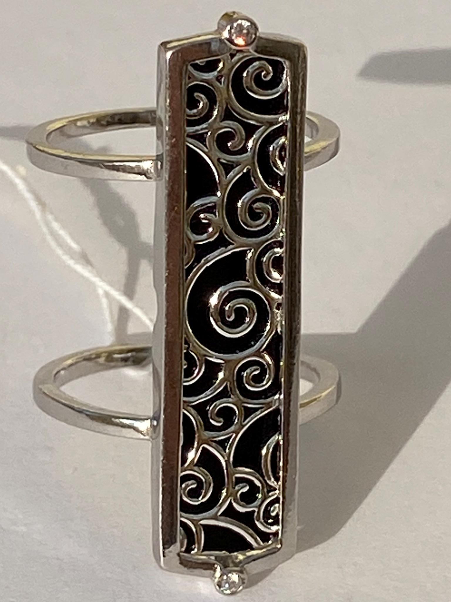 Тулуза (кольцо из серебра)