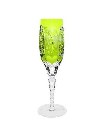 Фужер для шампанского 180мл Ajka Crystal Grape светло-зеленый