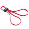 Текстильные тренировочные наручники красные HT-01-T