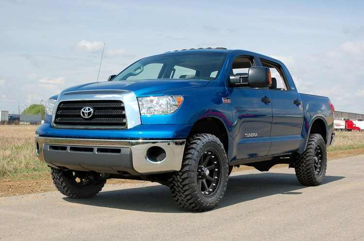 Лифт комплект подвески Rough Coutry Toyota Tundra 4WD 07-15 4.5 дюйма фото-1
