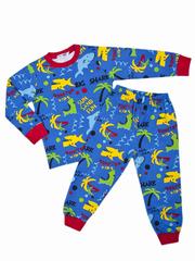 BK921PJ-2 пижама для мальчиков, синяя