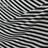 Матовый шелк в черно-белую полоску