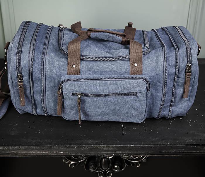 BAG477-3 Большая сумка для поездок синего цвета фото 09
