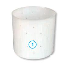 Круглая форма для сыра, без дна (110 х 110 х 110 мм.)