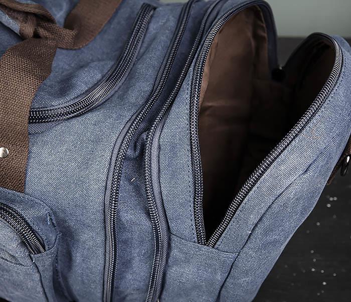 BAG477-3 Большая сумка для поездок синего цвета фото 10
