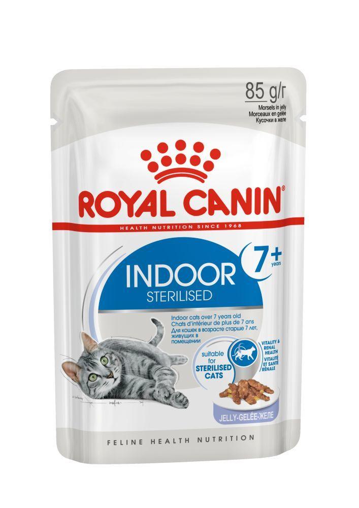 Royal Canin Пауч для кошек Royal Canin INDOOR STERILISED 7+ YEARS JELLY в желе Индор_7___желе__3.jpg