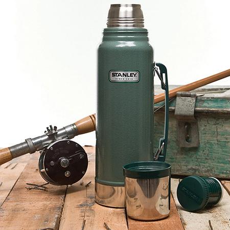 Термос Stanley Legendary Classic темно-зеленый (1 литр) new