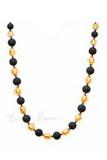Ожерелье Domino золотое