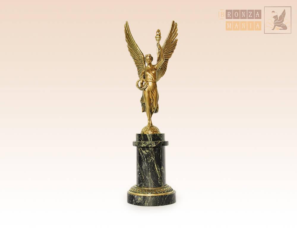 статуэтка Богиня победы с факелом - Ника