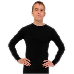 Фуфайка мужская из шерсти Мериноса и капсул Кофейного углерода (Двухслойное термобелье)