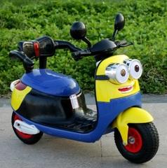 Миньон Мотоцикл детский трехколесный