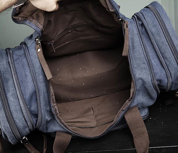 BAG477-3 Большая сумка для поездок синего цвета фото 11