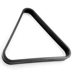 Треугольник 68 мм Rus Pro черный пластик