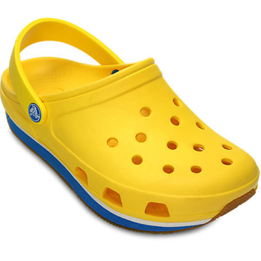 Мужские сабо Crocs Retro Clog Yellow Ocean