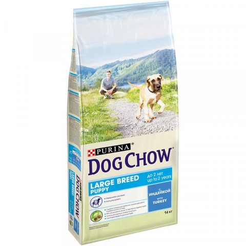 Dog Chow Large Breed Puppy 14 кг