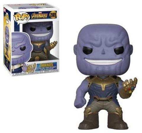 Фигурка Танос #289 Мстители: Война Бесконечности - Avengers Infinity War Marvel, Funko POP