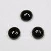 Кабошон круглый Агат Черный, 5 мм