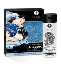 Мужской интимный крем для усиления чувствителности SHUNGA DRAGON SENSITIVE (60 мл)