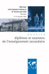 Diplomes et examens enseignement secondaire