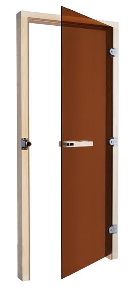 Двери: Дверь SAWO 730-3SGA-R 7/19 (бронза, правая, без порога)