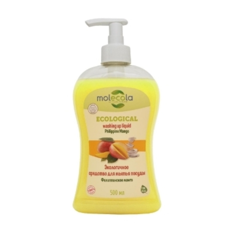 Экологичное средство для мытья посуды Филиппинское манго 500 гр (Molecola)