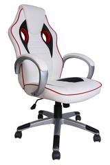 Кресло Бианко (Bianco) — белый/красный