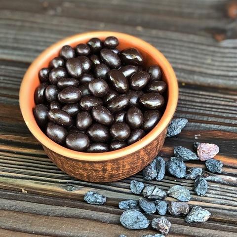 Фотография Изюм в темном шоколаде, 250 г купить в магазине Афлора