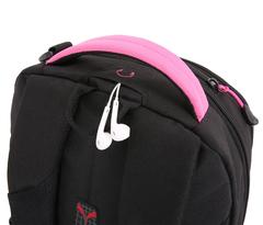 Рюкзак городской Swissgear черный/фукси
