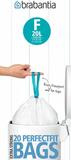 Пакет пластиковый, высокий 20л 20шт, артикул 245305, производитель - Brabantia