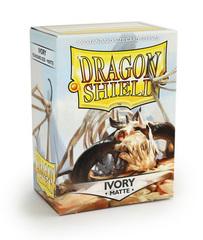 Dragon Shield - Слоновая кость матовые протекторы 100 штук