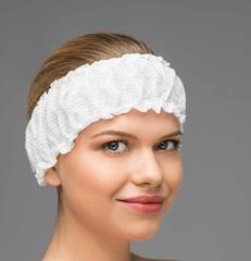 Фиксатор для волос (Спанлейс, белый, 10 шт/упк, штучно)