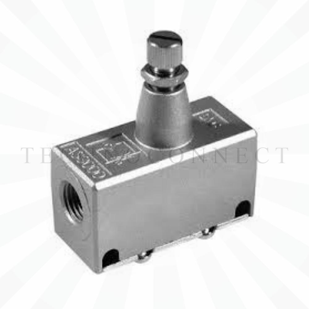 EAS2000-F01  Дроссель с обратным клапаном, G1/8
