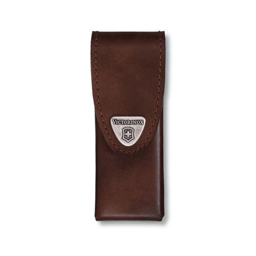 Чехол кожаный коричневый для Swiss Tools Spirit