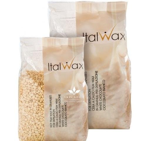 Гранулированный воск для депиляции Белый шоколад (бразильский), ItalWax