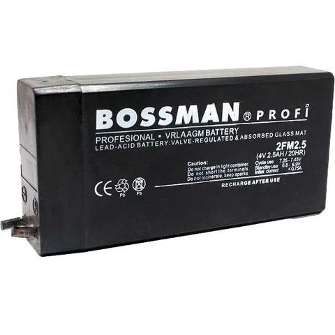Аккумуляторы Bossman 4V 2.5A