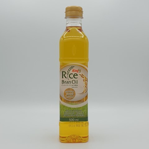 Масло рисовых отрубей рафинированное KING ISLAND, 500 мл