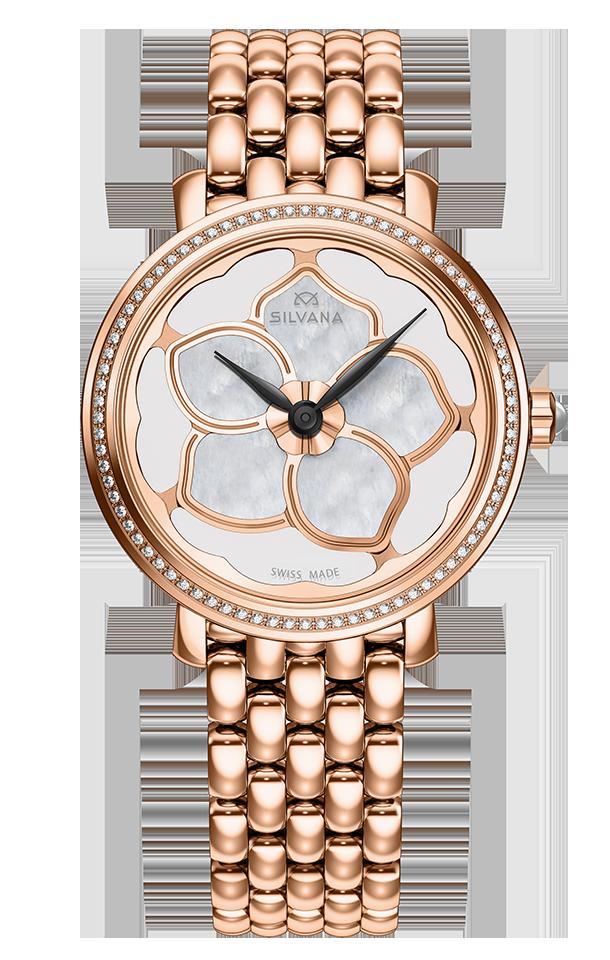 Часы женские Silvana SF36QRD85R Flowers