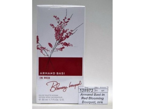 ARMAND BASI In Red Blooming Bouquet, туалетная вода, 50мл., женский