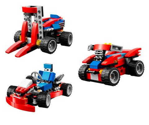 LEGO Creator: Красный гоночный карт 31030