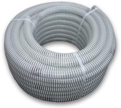 Шланг гофрированный вакуумный силовой SYMMER Spiral SSM - 75мм х 3мм х 25м
