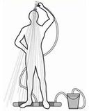 Переносной душ Топтун пригодится для использования на даче, на прир...