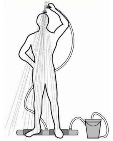 <p>Переносной душ Топтун пригодится для использования на даче, на п...