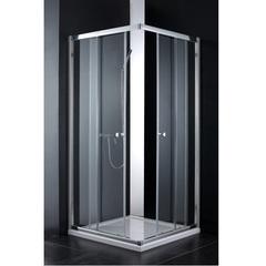 Душевой уголок 90х90х200 см с раздвижными дверями Cezares Anima ANIMA-W-A-2-90-C-Cr-IV фото