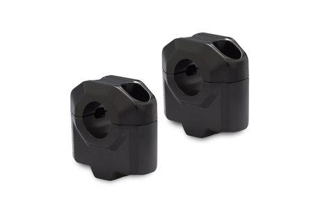 Проставки руля D22мм H30мм, черный