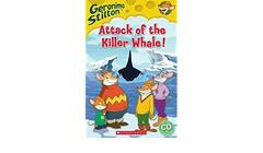 Geronimo Stilton: Attack of the Killer Whale (Book & CD)
