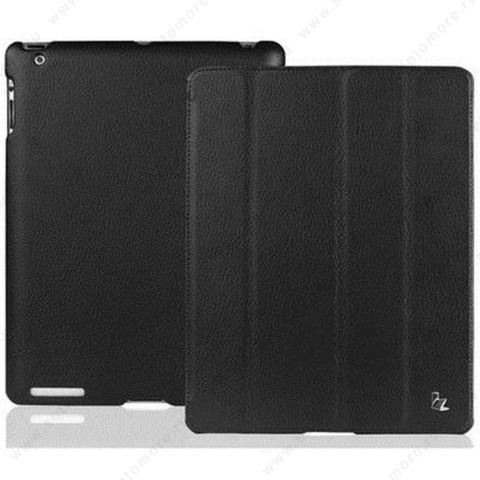 Чехол-книжка Jisoncase для Apple iPad 4/ 3/ 2 JS-IPD-07I с логотипом черный SLE